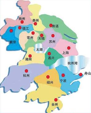长三角地图全图_中国地图全图高清版